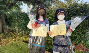 第8回 善福寺公園テニスクラブ 女子ダブルス優勝:千葉・海老沼ペア