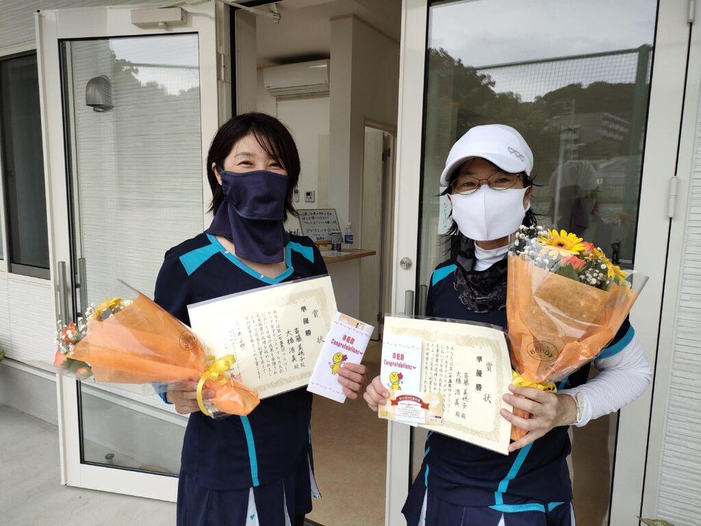 準優勝:斎藤・大橋ペア
