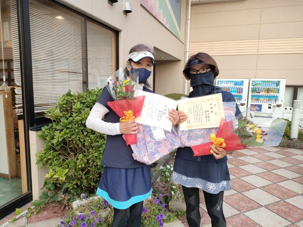 準優勝:瀧本・鈴木ペア