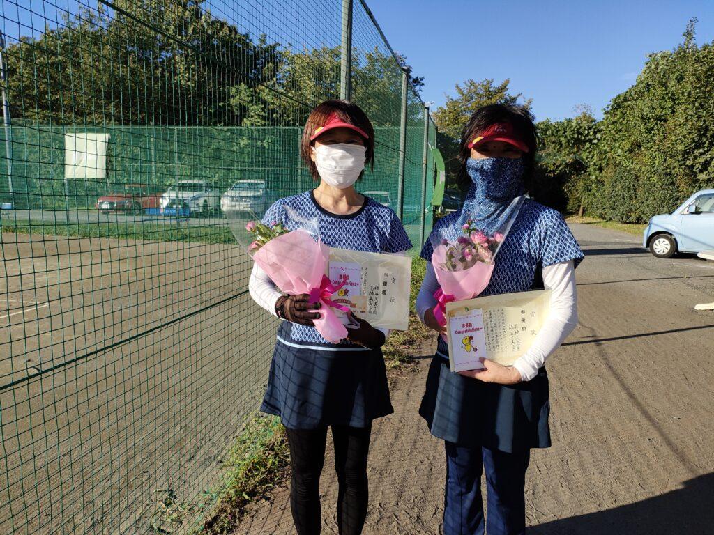 準優勝:福谷・高橋ペア