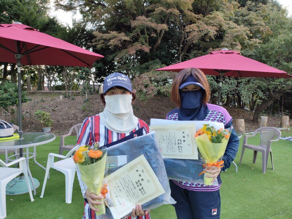 準優勝:伊藤・島村ペア