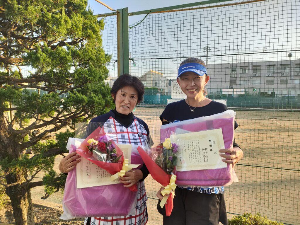 準優勝:神津・新井ペア