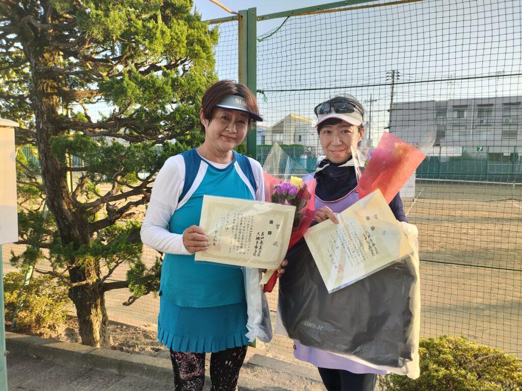 優勝:吉田・大槻ペア
