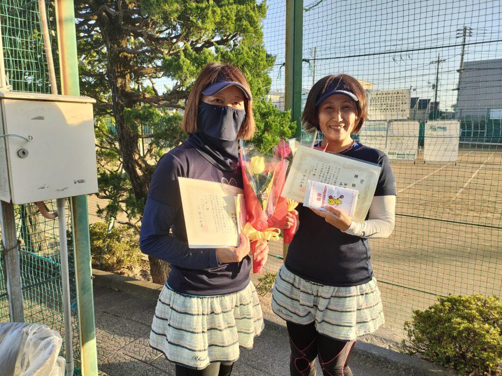 優勝:名取・田中ペア