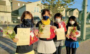 第1768回 南町田インターナショナル 女子チーム戦準優勝:『好きかチーズ』
