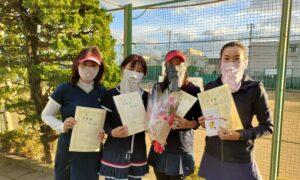 第1774回 関町ローンテニスクラブ 女子チーム戦準優勝:『ミントグリーン』