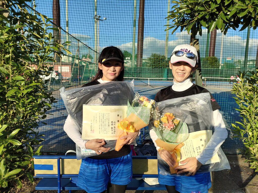 優勝:山口・西岡ペア