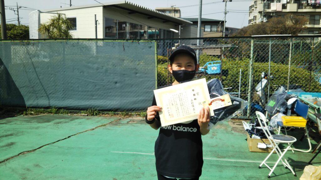 準優勝:西村 優奈選手