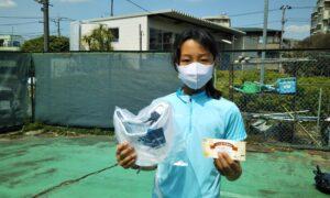 第49回 桜台テニスクラブ 小学生女子12歳以下準優勝:根岸 希光選手