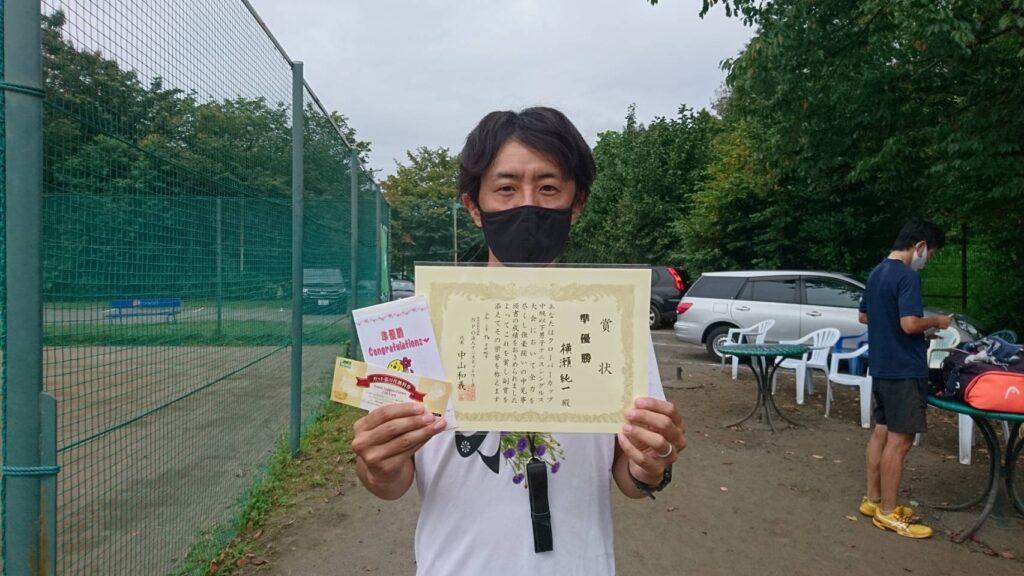 準優勝:横瀬 純一選手