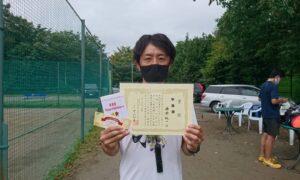 第8回 桜田倶楽部 男子シングルス準優勝:横瀬 純一選手
