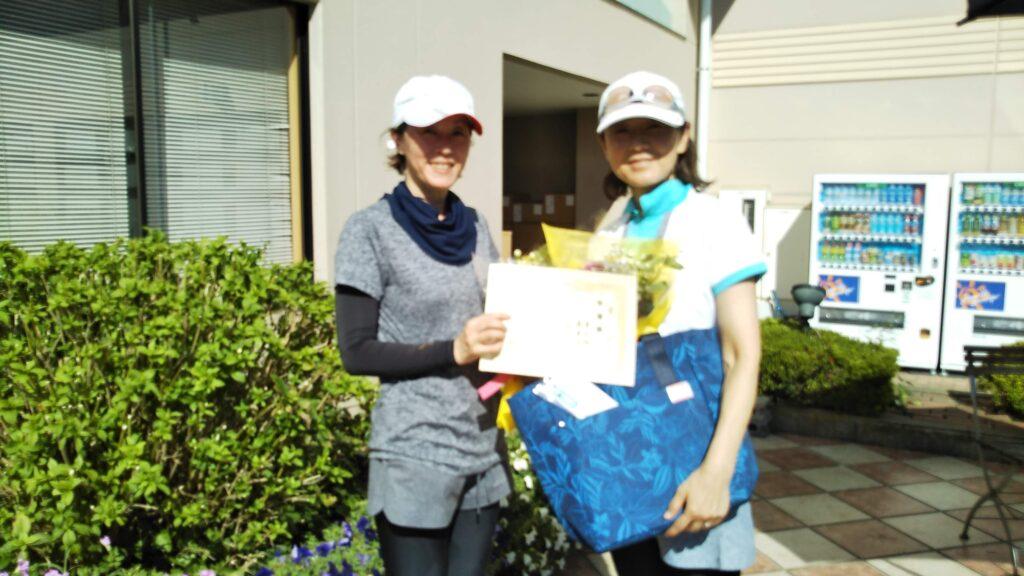 準優勝:藤猪・渡辺ペア