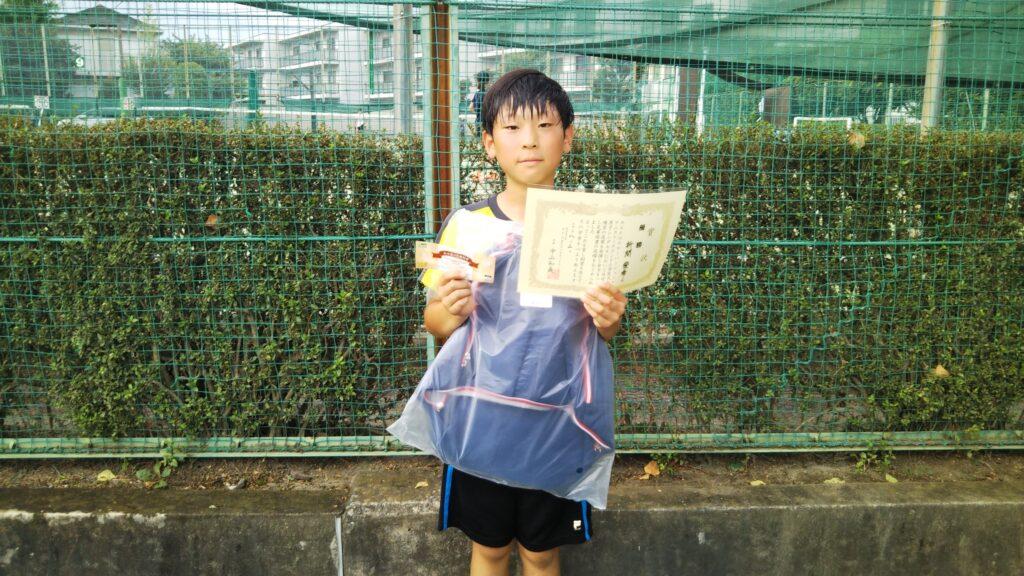 優勝:折間 俊希選手
