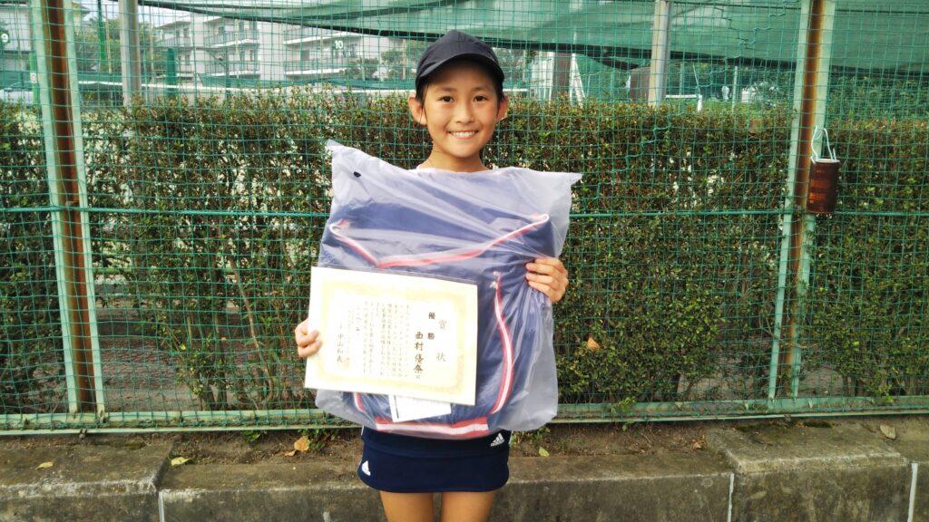 優勝:西村 優奈選手