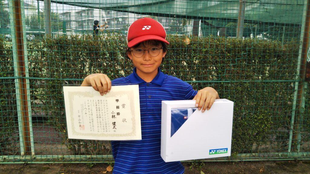 準優勝:小林 健太選手