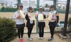 第10回 善福寺公園テニスクラブ 女子チーム戦準優勝:『手前味噌』