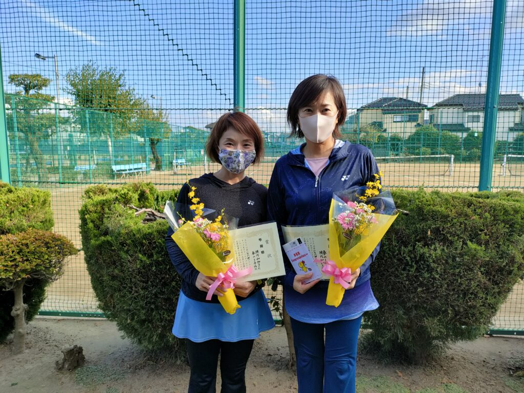 準優勝:横内・春山ペア