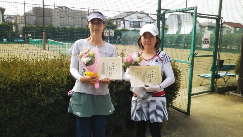 準優勝:長沢・渡部ペア