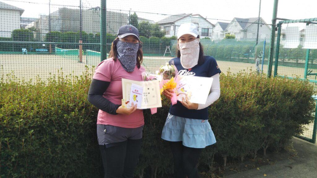 優勝:川口・櫻田ペア
